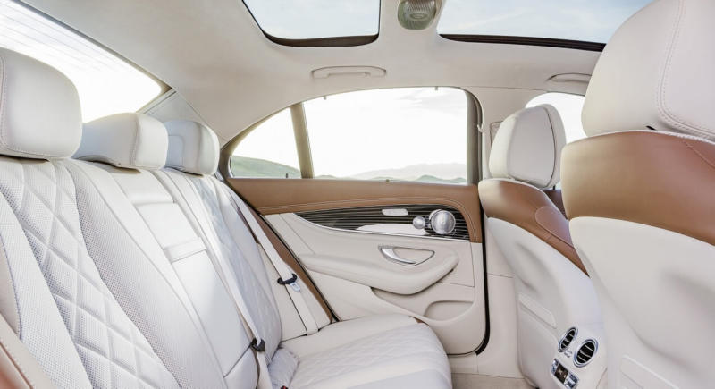 Салон Mercedes-Benz E-Class W213