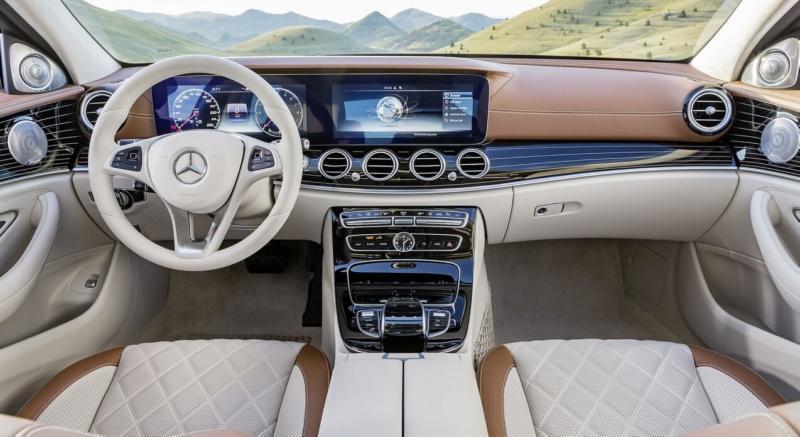 Интерьер Mercedes-Benz E-Class W213