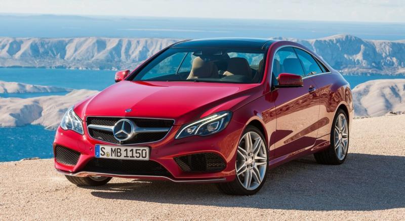 Фото авто Mercedes‑Benz E‑Class Coupe