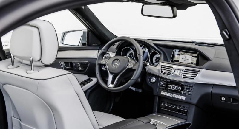 Интерьер Mercedes E-Class