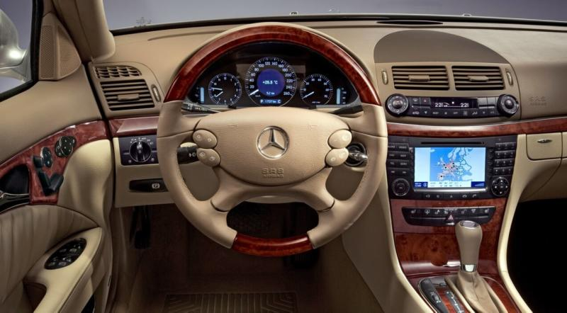 Рулевое колесо Mercedes E-Class