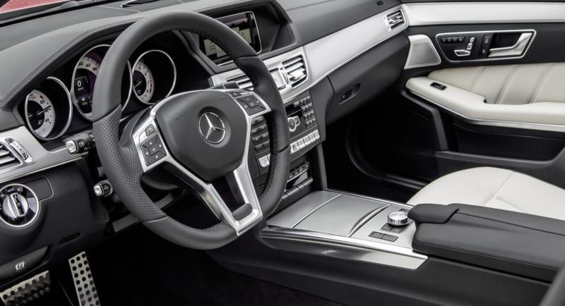 Салон Mercedes E-Class