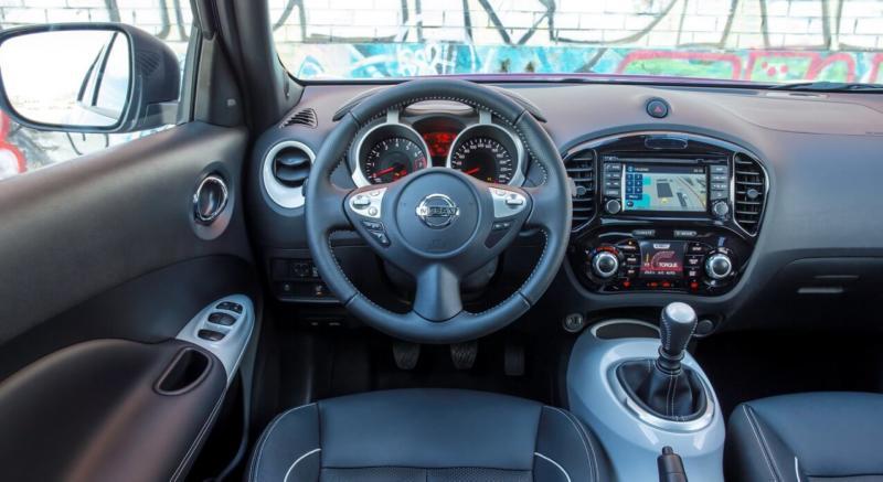 Интерьер Nissan Juke
