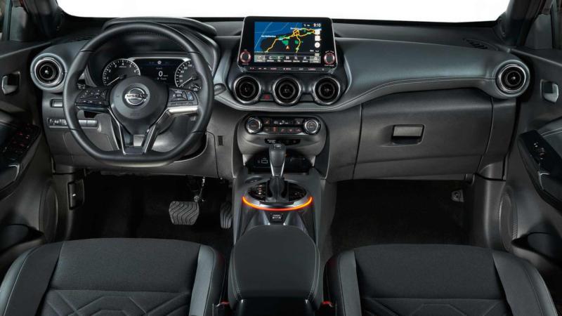 Интерьер Nissan Juke II