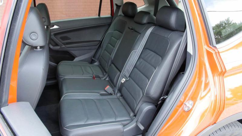 Задний диван Volkswagen Tiguan