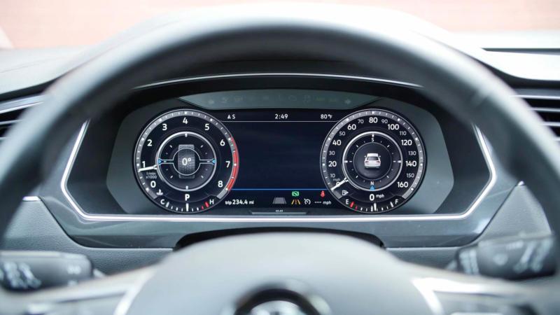 Панель приборов Volkswagen Tiguan