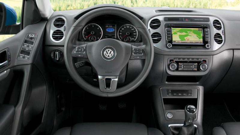 Салон Volkswagen Tiguan I