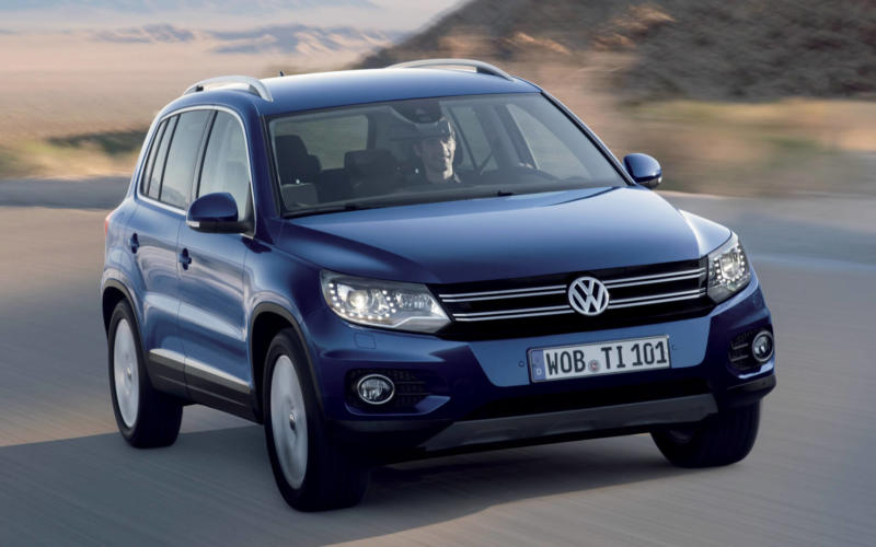 Рестайлинг Volkswagen Tiguan