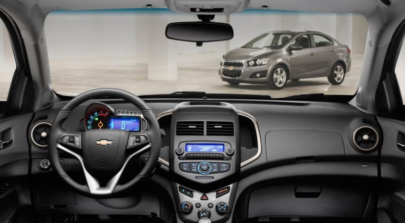 Интерьер Chevrolet Aveo