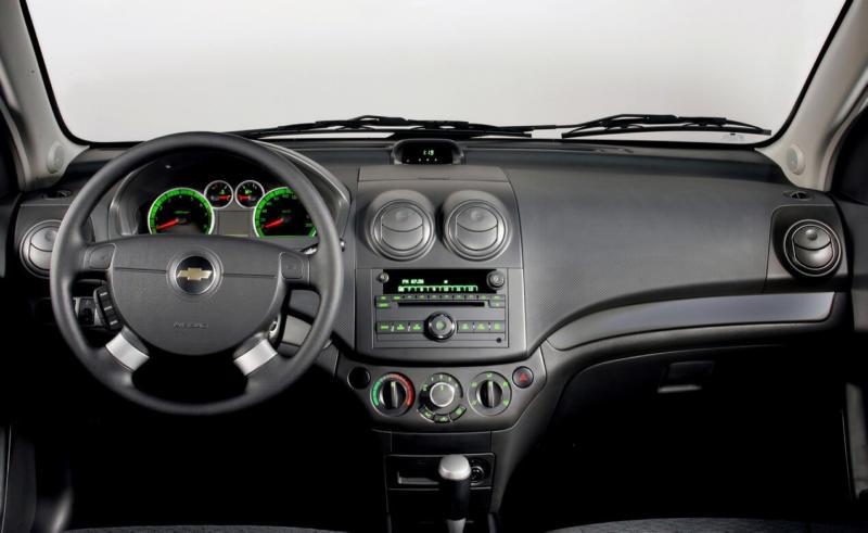 Салон Chevrolet Aveo T250