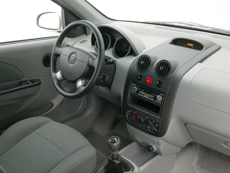 Салон Chevrolet Aveo Т200