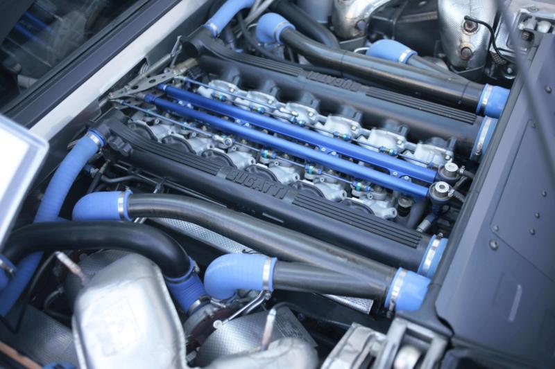 Двигатель Bugatti EB110