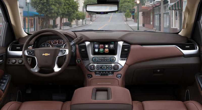 Интерьер Chevrolet Tahoe 4