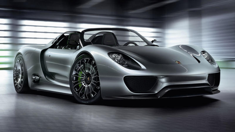 Фото Porsche 918 Spyder Concept