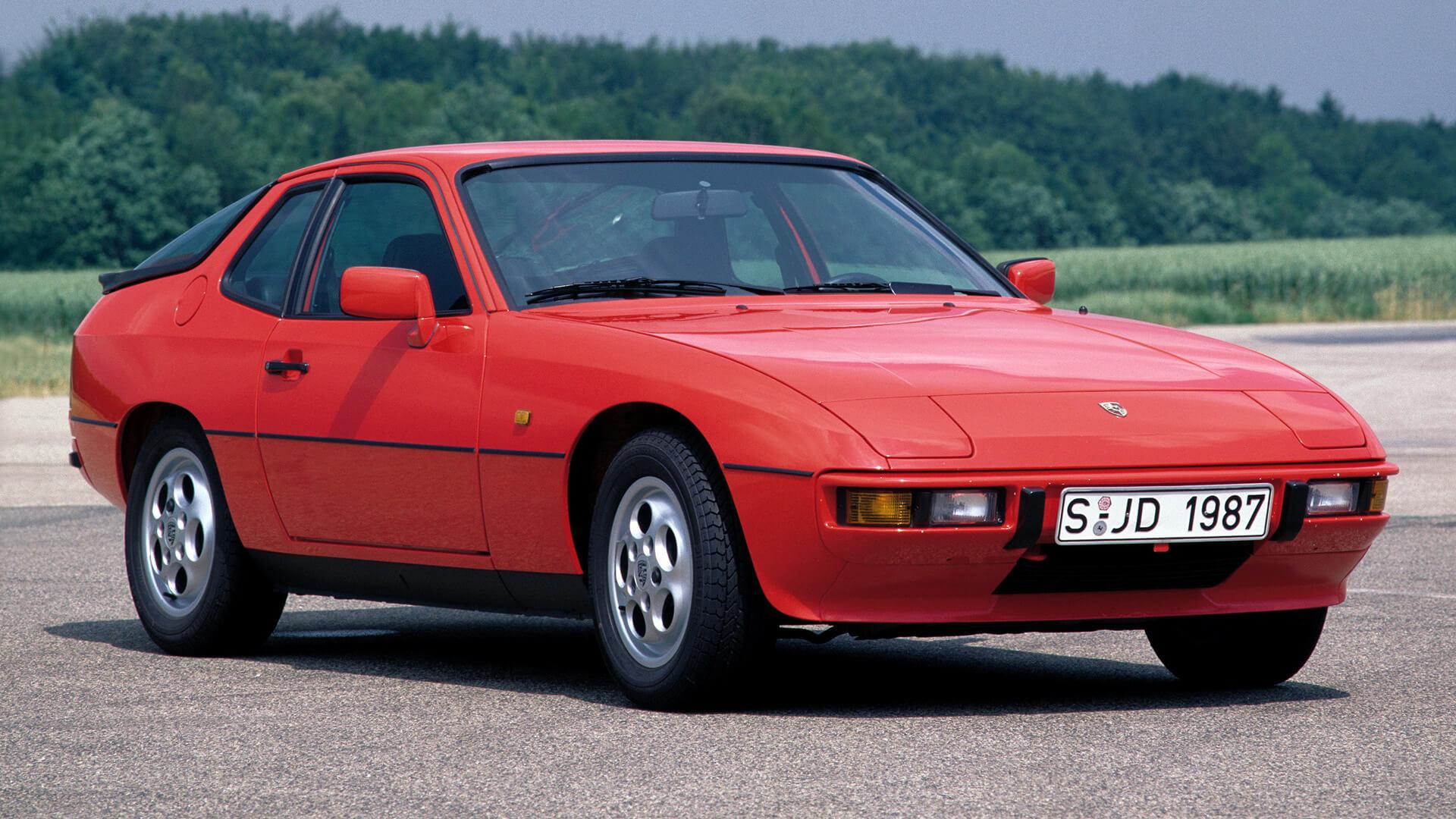 Обои двигатель, Porsche 924, 1980. Автомобили foto 10
