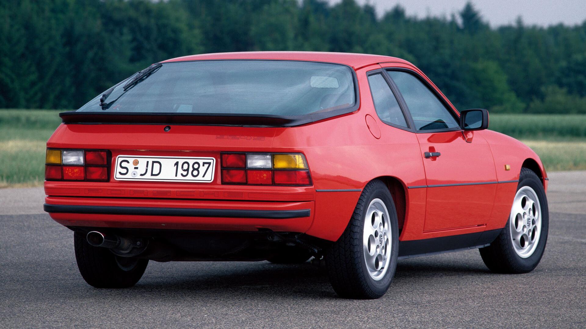 Обои двигатель, Porsche 924, 1980. Автомобили foto 17