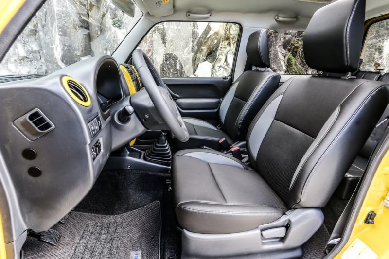 Салон Suzuki Jimny JB43
