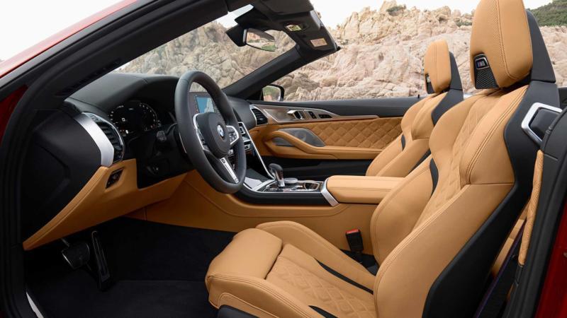 Салон BMW M8