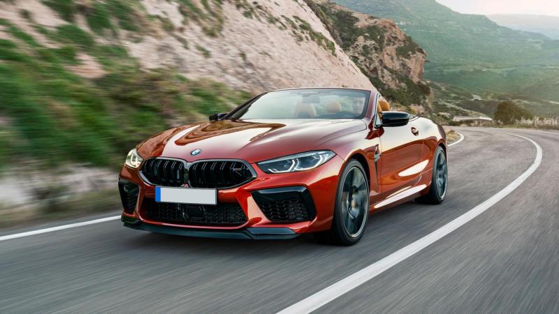 Кабриолет BMW M8
