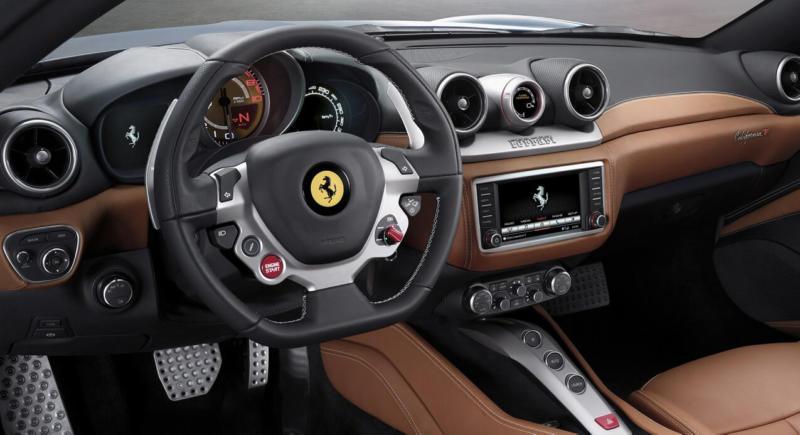 Интерьер Ferrari California T