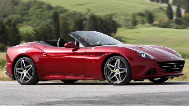 Кабриолет Ferrari California T