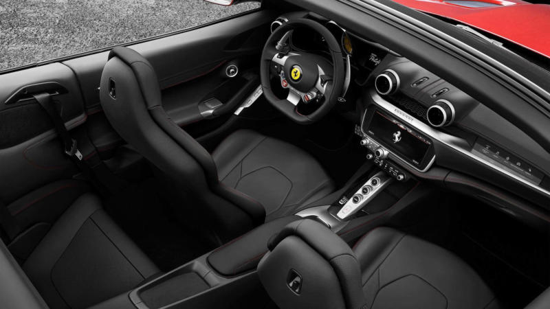 Интерьер Ferrari Portofino