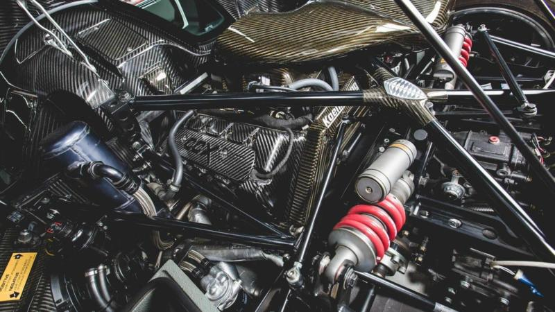 Двигатель Koenigsegg CCXR Trevita