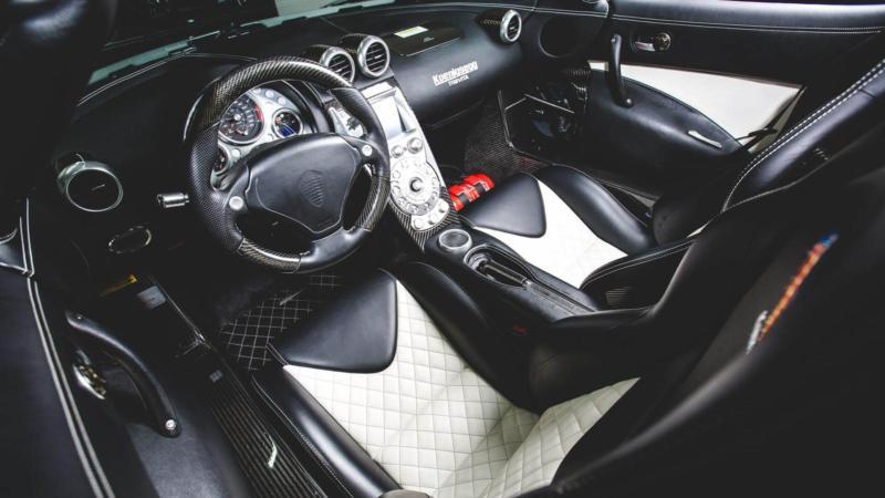 Салон Koenigsegg CCXR Trevita