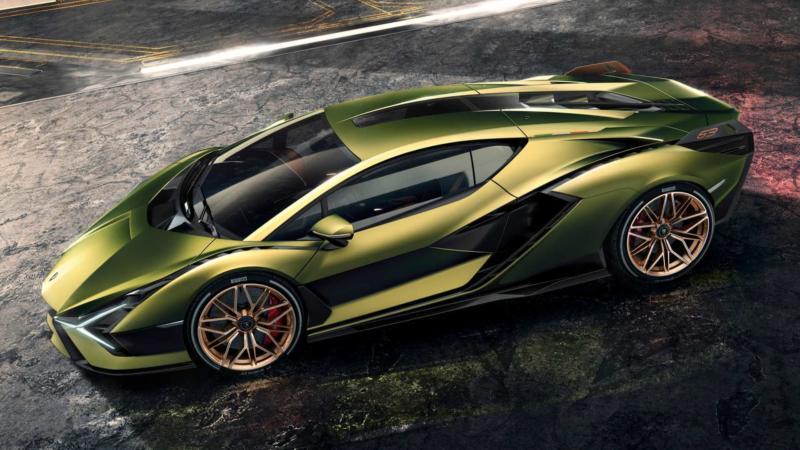 Спорткар Lamborghini Sian