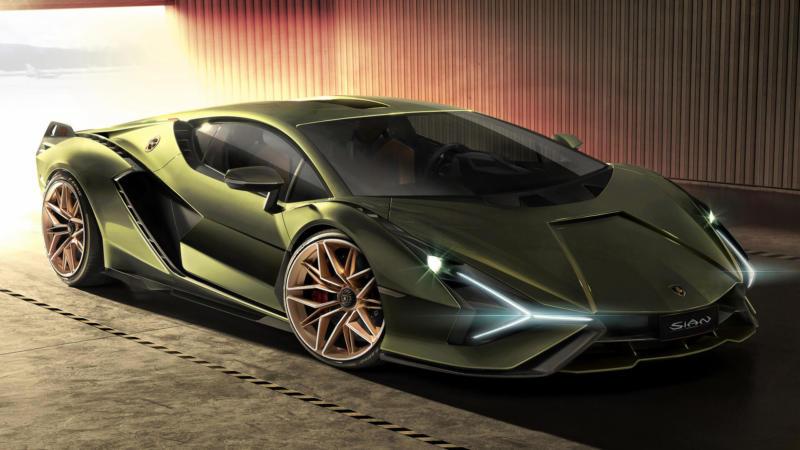 Фото Lamborghini Sian