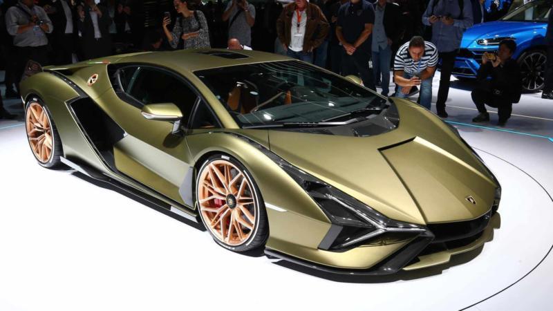 Авто Lamborghini Sian