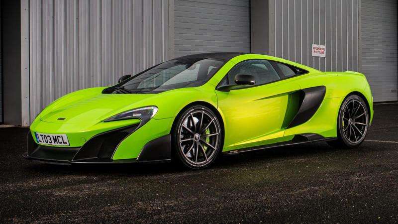 Авто McLaren 675LT
