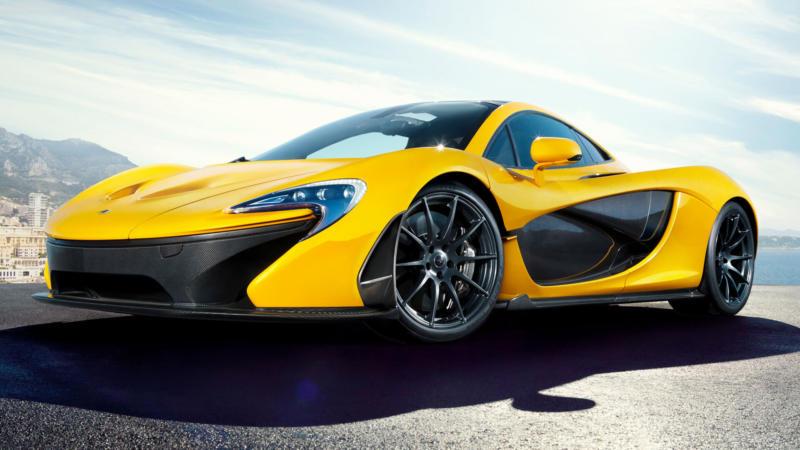 Фото авто McLaren P1