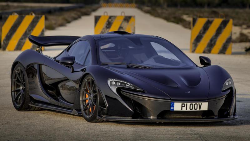 McLaren P1 вид спереди
