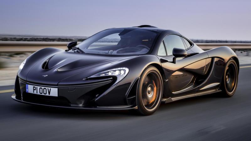 Фото McLaren P1