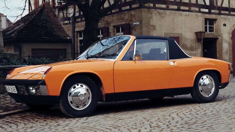 Автомобиль Porsche 914