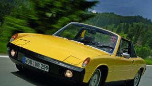 Автомобиль Порше 914