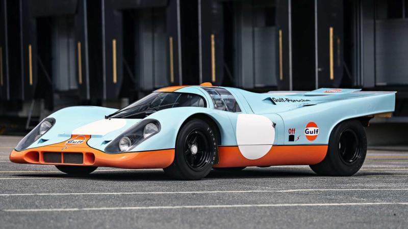 Спорткар Porsche 917
