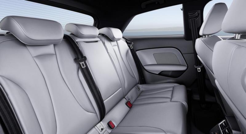 Салон Audi A3 (8V)