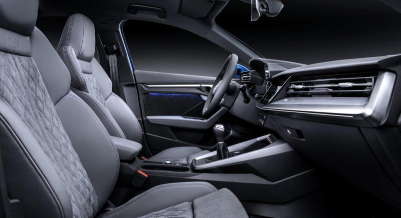 Салон Audi A3 8Y