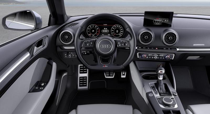 Интерьер Audi A3 (8V)