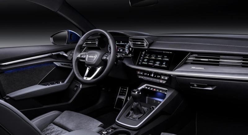 Интерьер Audi A3 8Y
