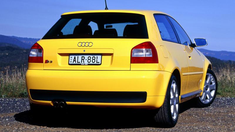 Audi A3 (8L) вид сзади