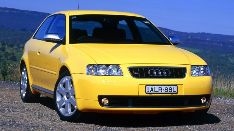 Audi A3 (8L) вид спереди