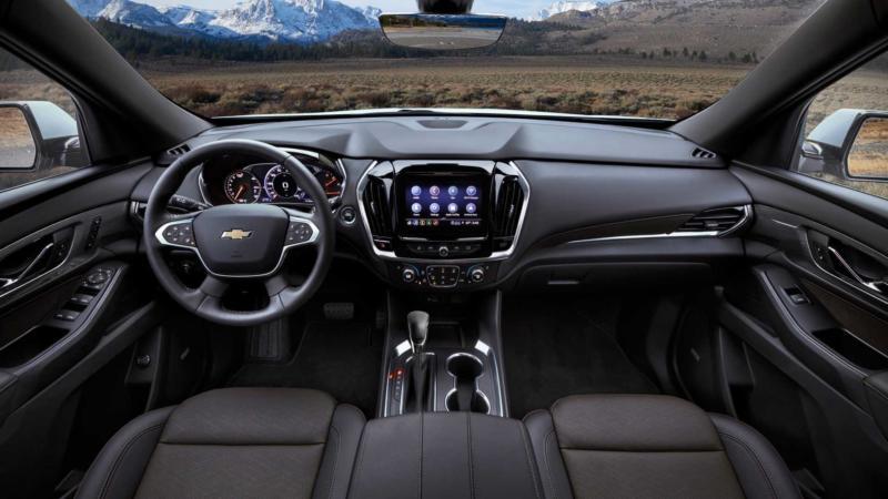 Салон Chevrolet Traverse 2021