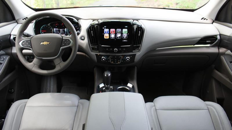 Салон Chevrolet Traverse II