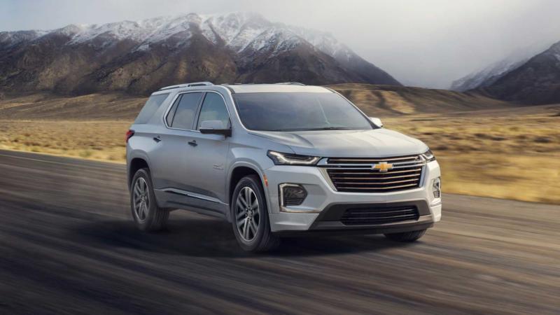 Обновленный Chevrolet Traverse