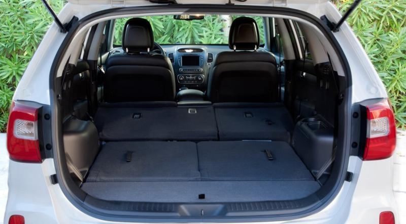 Багажник Kia Sorento II поколения