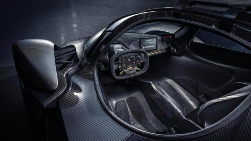 Салон Aston Martin Valkyrie