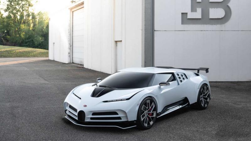 Фото Bugatti Centodieci